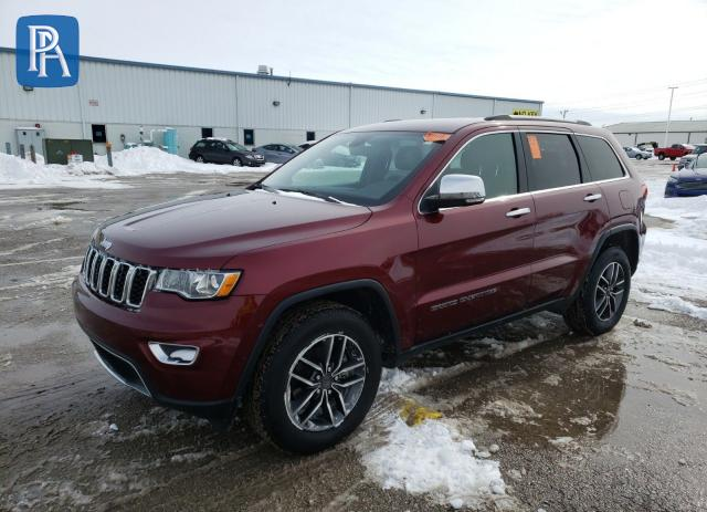 2019 JEEP GRAND CHEROKEE LIMITED #1660523527