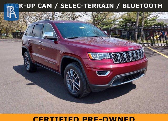 2018 JEEP GRAND CHEROKEE LIMITED #1694838207
